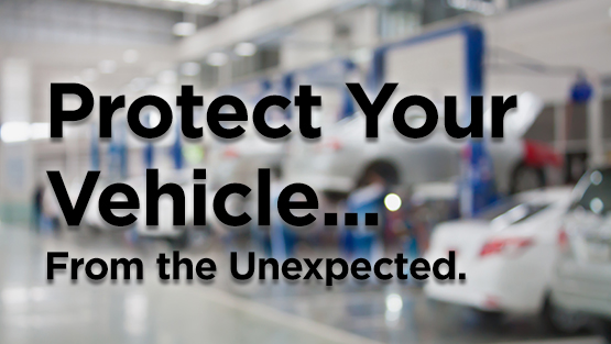 Protect Your Vehicle... From the Unexpected